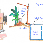 Thiết kế bể phốt đơn giản cho nhà