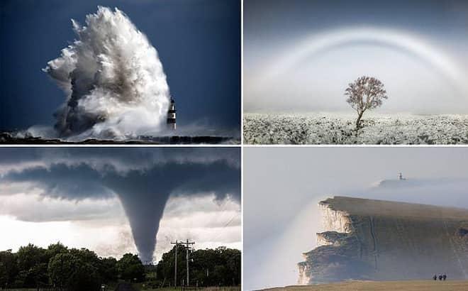 Xuất hiện những hiện tượng thời tiết cực đoan