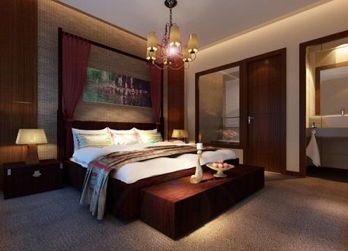 Cửa phòng ngủ của gia chủ