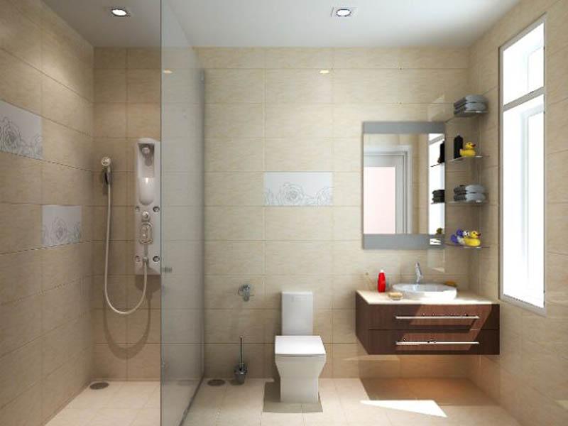 Diện tích phòng tắm 9-10m2