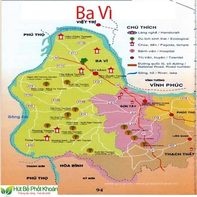 Thông tắc bồn cầu tại Huyện Ba Vì