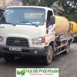 Công ty TNHH Hút Bể Phốt Khoán sử dụng xe hút bể phốt đời mới nhất