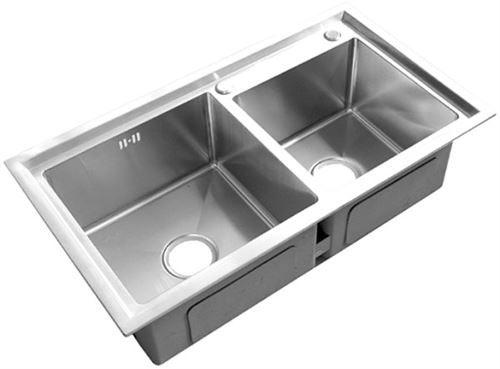 Kích thước chậu rửa bát 2 ngăn Topy