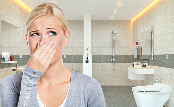 Mùi hôi thường trực là một trong những dấu hiệu cho thấy bể phốt đầy