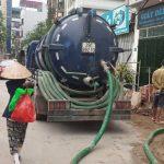 Nhu cầu sử dụng dịch vụ hút bể phốt tại Long Biên