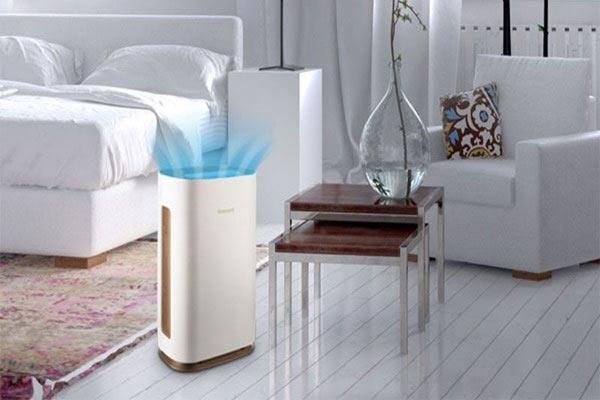Sử dụng máy lọc không khí để khử mùi hôi
