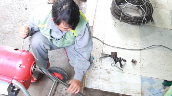 Dịch vụ Thông tắc cống tại Long Biên