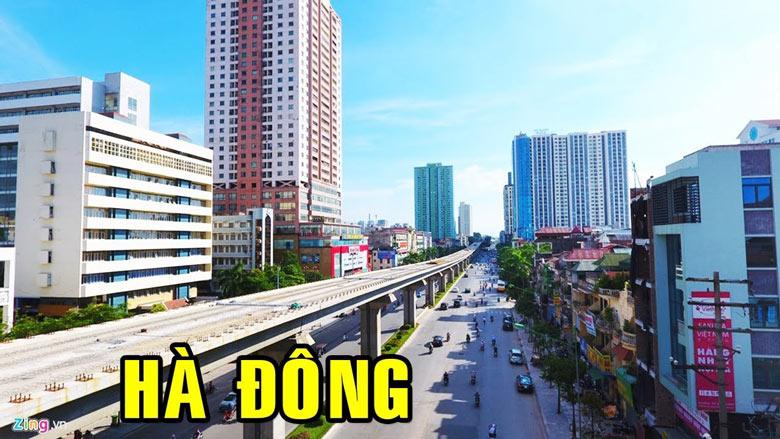 Hà Đông là quận nội thành của TP Hà Nội có tốc độ phát triển nhanh