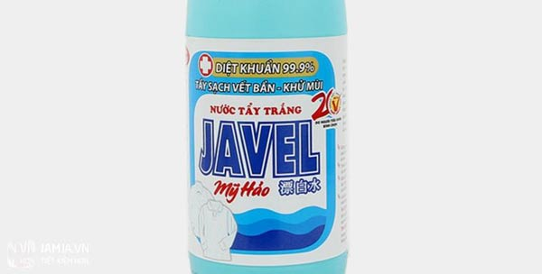 Nước tẩy quần áo Javel