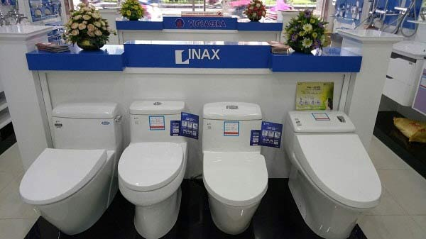Bồn cầu thương hiệu Inax