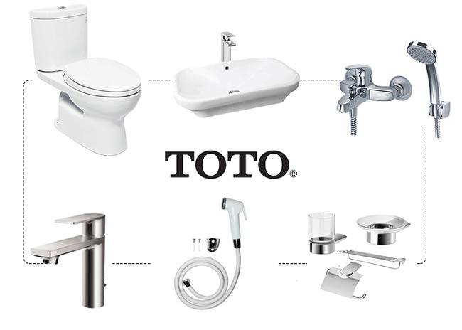 Bồn cầu thương hiệu ToTo