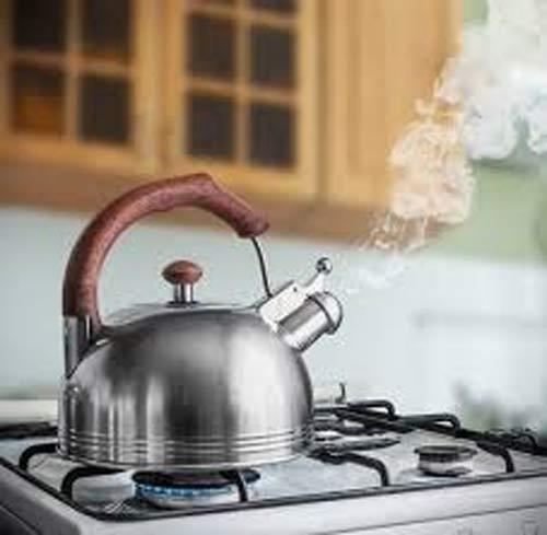 Khử nước nhiễm canxi bằng cách đun sôi
