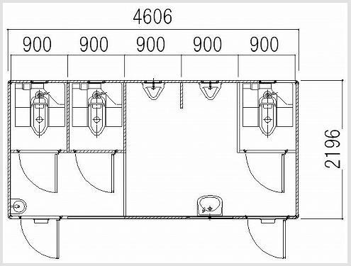Kích thước nhà vệ sinh công cộng như thế nào là chuẩn 2