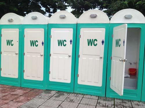 Kích thước nhà vệ sinh công cộng thường từ khoảng 2 – 3 m2