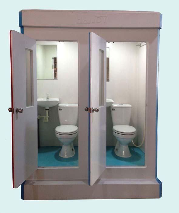 Trang thiết bị trong nhà vệ sinh