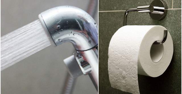 Đi vệ sinh nên chùi hay rửa