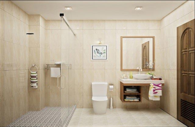 Chiều cao nhà vệ sinh