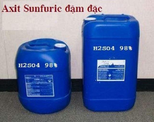 Tính chất chung của Axit Sulfuric