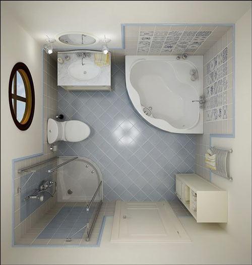 Hướng đặt nhà vệ sinh trong nhà ống