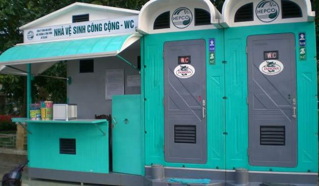 Kích thước tiêu chuẩn cho nhà vệ sinh công cộng