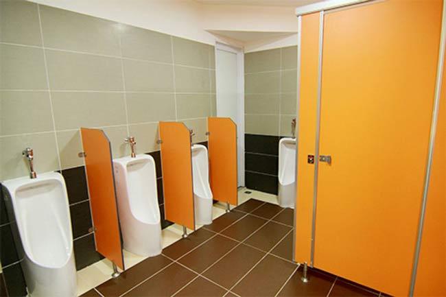 Kích thước tiêu chuẩn nhà vệ sinh dành cho công nhân