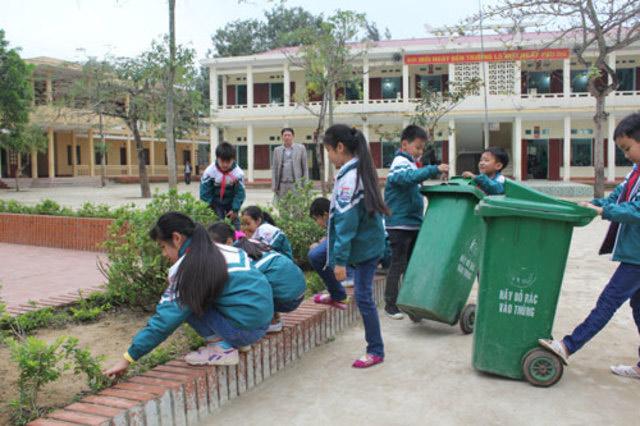 Thường xuyên dọn dẹp, vệ sinh lớp học