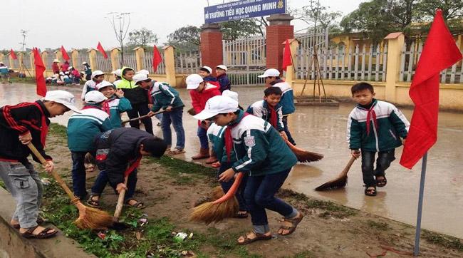 Trách nhiệm của các em học sinh, sinh viên về bảo vệ môi trường