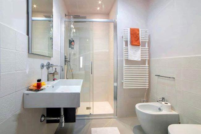 Phòng vệ sinh rộng bao nhiêu