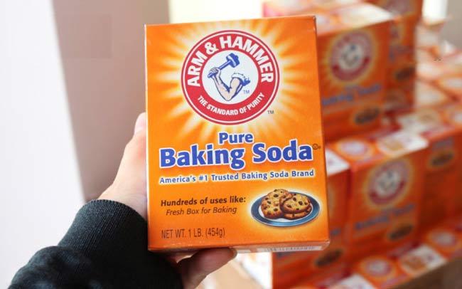 Cách khử mùi nước tiểu chuột bằng Baking soda