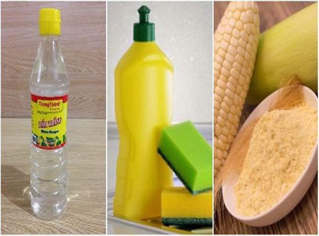 Khử mùi khai nước tiểu bằng bằng bột bắp