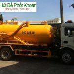 Hút bể phốt tại huyện Thanh Oai