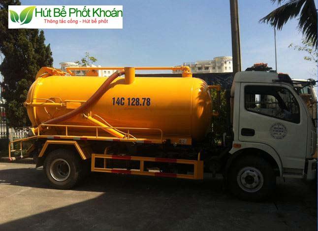 Cách chọn công ty hút bể phốt Phú Xuyên uy tín