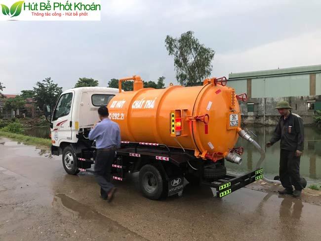 Công ty hút bể phốt uy tín tại An Giang