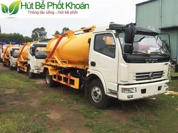Công ty hút hầm cầu Bình Phước