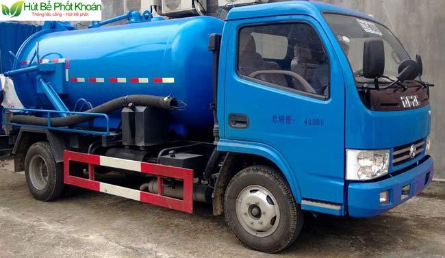 Dịch vụ hút bể phốt tại An Giang
