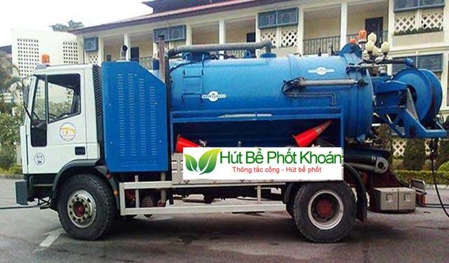 Công ty hút hầm cầu Đồng Nai uy tín
